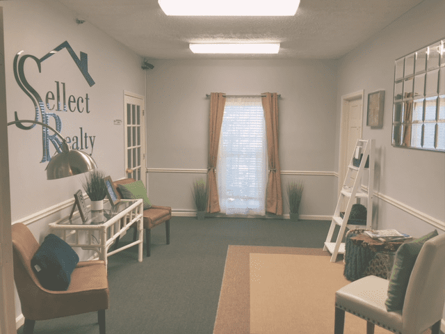 The Main Lobby in Sellect Realty's Marietta Georgia Office.