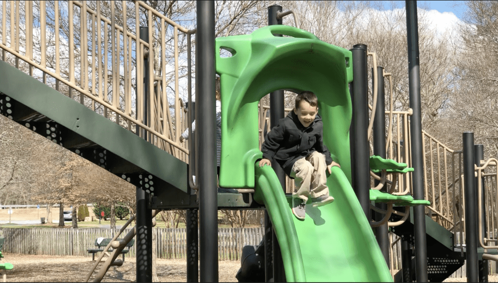 Child Playing at East Cobb Park