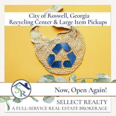 Roswell Recycling Center and Large Item Pickups