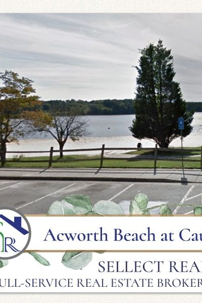 Acworth Beach at Cauble Park Georgia