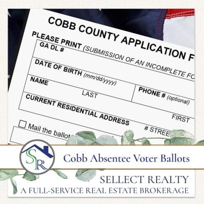 2020 Cobb County Absentee Voter Ballot Applications