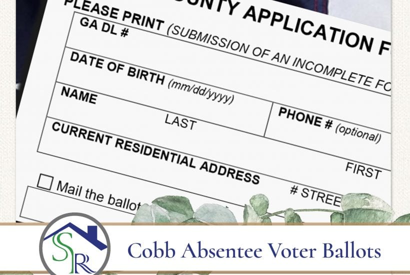 Cobb County Absentee Voter Application