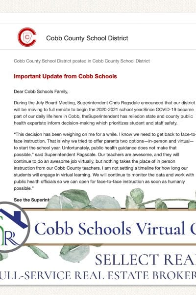 Cobb County Schools Virtual Only