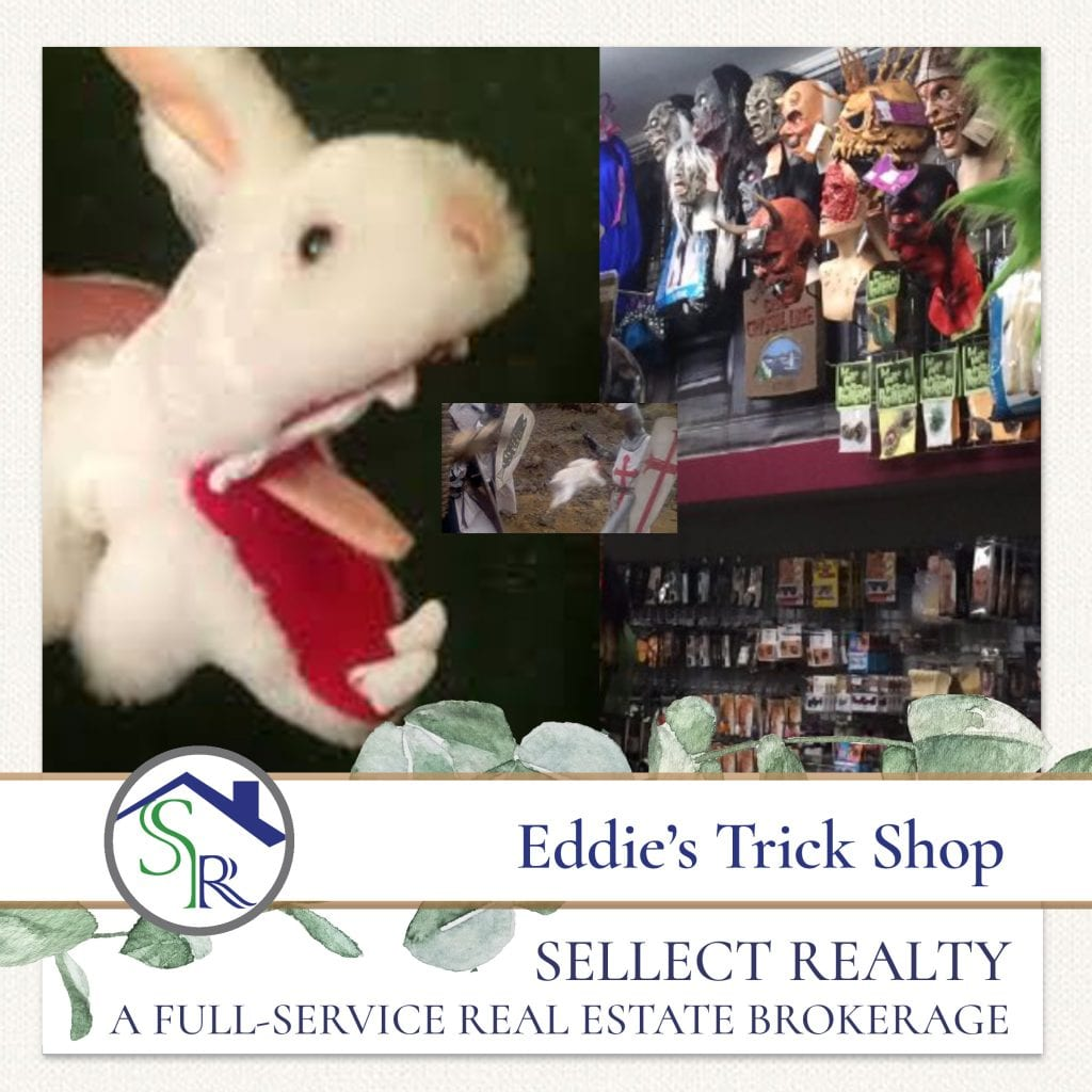 Eddies Trick Shop Goods